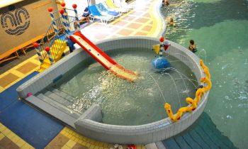 Thermal Corvinus - Detský bazén s hracími elementmiDetský bazén s hracími elementmi